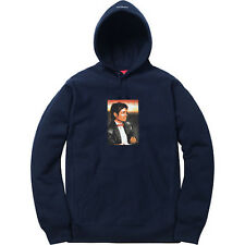 NEW! Supreme Michael Jackson Hooded Sweatshirt (Navy, Small Hoodie) CONFIRMED