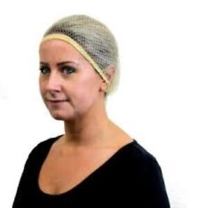 Shires Equi-net Hairnets (1 pack of 2 nets) Blonde includes Matching Hair Tie