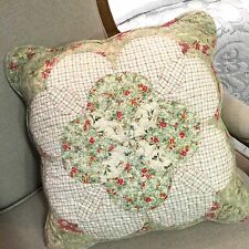 Shabby Chic Throw Cushion / Pillow Cover 45x45cm Scalloped Matching Sets Listed
