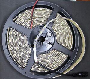 Striscia Strip Led 14,4 W/m 5050 SMD 5m IP 65 870 lm/m Esterno IP65