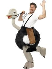Ostrich with Fake Hanging Legs Adult Mens Smiffys Fancy Dress Costume
