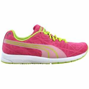 [187254 10] Puma Narita V2 Jr Hot Pink/White-Lime Punch Grade-School
