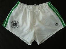 ADIDAS DFB Shorts Glanz Sprinter Nylon Hose Vintage Sporthose D6 Beckenbauer