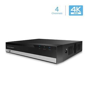 Amcrest NV2104-HS 4CH NVR 4K/6MP/5MP/4MP/3MP/1080P (HDD Not Included)