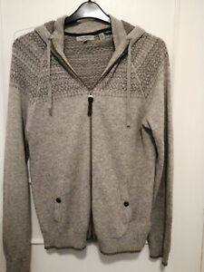 Ted Baker Mens Hooded Cardigan Worn Twice Size Small