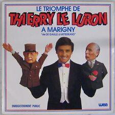 Thierry Le Luron 33 tours Le triomphe à Marigny 1983