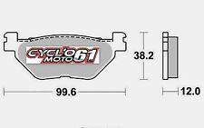 Plaquettes de frein arrière Scooter Yamaha XP 530 T max 2012 à 2016 (S1269)