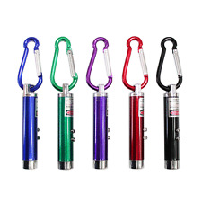 Mercy! 3 in1 Multifunction Mini Laser Light LED Torch Flashlight Keychain Toy