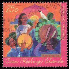 "COCOS ISLANDS 317 (SG345) - Hari Raya Puasa ""Drum Beaters"" (pf67423)"