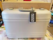 """Zero Halliburton Attache 5"""" Elite Silver briefcase  laptop camera case E5-SI"""