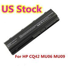 MU06 Battery for HP 593553-001 HSTNN-LBOW Compaq CQ45-m03TX G42 G62 G56 G72