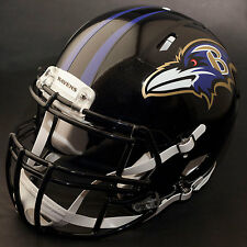 BALTIMORE RAVENS NFL Authentic GAMEDAY Football Helmet w/ S2BDC-SP Facemask