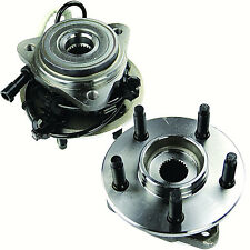 2X FRONT HUB & WHEEL BEARING ASSEMBLY (PAIR) FORD EXPLORER 1995-2001 4WD