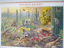 SONORAN  DESERT STAMP SHEET---10--33c