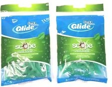 Oral-B Floss Picks, Complete w Scope Outlast Mint Flavor 75ct (Lot of 2, 150ct)