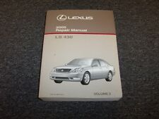 2005 Lexus LS430 Sedan Workshop Shop Service Repair Manual Book Vol3 4.3L V8