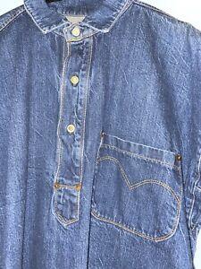 🔥LEVIS VINTAGE CLOTHING / LVC / SELVEDGE / OVERSHIRT / MEDIUM🔥
