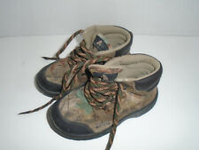 Ozark Trail Waterproof Hiking Boots Shoes ~ Toddler Boys Kids Size 12 ~ Camo