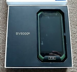Untested black view BV6000s 4G robust mobile phone spares repair rugged IP-68