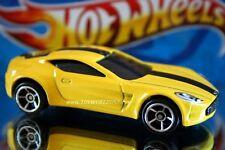 2014 Hot Wheels Workshop HW Exotics Aston Martin One-77 yellow