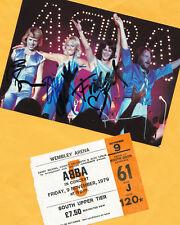 ABBA-Top-ak imagen - 21x15 (1) - Print copie + ticket copie + 3 ak 's firmado