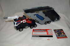 Transformers Energon Optimus Prime Complete Instructions Sticker