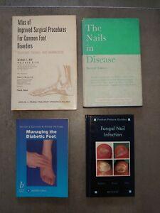 PODIATRY CHIROPODY FOOT FEET TEXTBOOKS MEDICINE BOOKS BUNDLE 1