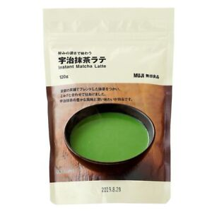 From Japan Muji Kyoto Uji Matcha Latte 120g