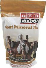 Redmond Red Edge Goat Mineral Mix Sea Salt Vitamin Formula Healthy Balance 5 lbs