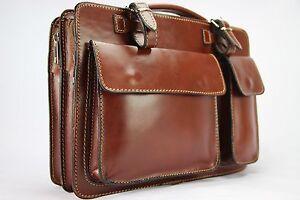 Business- und Laptoptaschen Luxus Aktentasche Braun S