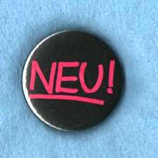 NEU  BADGE,  Krautrock, Can, Kraftwerk.