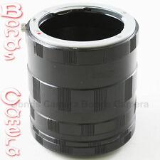 Macro Extension Adapter Tube For Nikon F mount D700 D90 D300 D5000 D3X D7100 D4