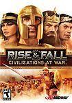 Rise & Fall: Civilizations At War (PC: Windows, 2006) BNIB SEALED PC GAMER