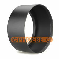 62mm Tele Metal Screw-in Lens Hood For Canon Nikon Sony Olympus Camera