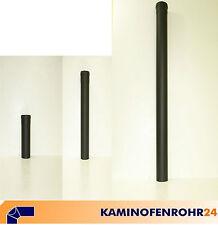 Rauchrohr Ofenrohr Pellet Verlängerungen grau schwarz �˜ 80 100 mm