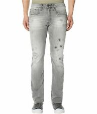 Buffalo David Bitton Men's Grey Evan-X Slim Stretch Jeans BM20592 $109 NEW