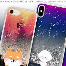 Shibachon Bling Glitter Case iPhone 7/8/iPhone 7/8 Plus Case 8 Types Korea made