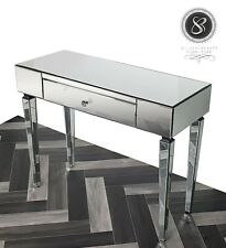 Nice Mirrored Dressing Console table with 1 drawer Modern touch