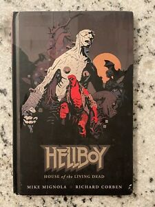 Hellboy House Of The Living Dead HARDCOVER Dark Horse Comics Graphic Novel J590