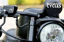 TAPPI FORCELLA copertura FORK TUBE Caps per Harley Sportster modelli (tranne 48)
