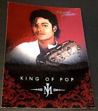 MICHAEL JACKSON 2011 Panini PLATINUM Parallel SP #8 The King Of Pop VERY RARE