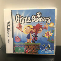 Giana Sisters Complete With Manual Nintendo DS Game AUS Release VGC