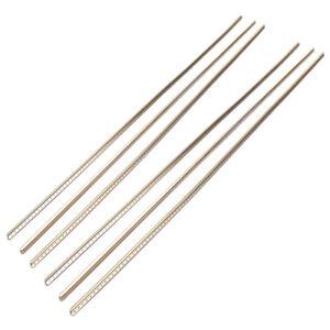 Guitar fret wire 1-6 pcs nickel silver in 300 mm lengths light - heavy gauge