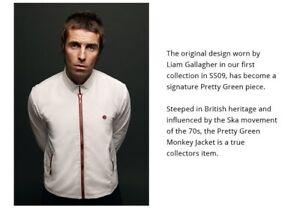 Pretty Green - First Release - Monkey Jacket - White/red - XXL - Liam Gallagher