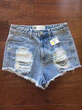 Maui high rise Jean Shorts