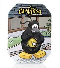 Club Penguin Card Jitsu Trading Cards Collectors Empty Tin Disney Series 1