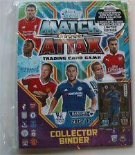 2015 / 2016 Topps Match Attax English Premier League Soccer Card Starter Kit.