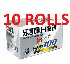 10 Rolls Lucky SHD 100 Film 35mm 36exp Black and White 135 Lomo exp.2020-1
