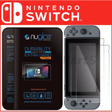 Genuine NUGLAS FOR NINTENDO SWITCH 0.33mm / 2.5D Tempered GLASS Screen Protector