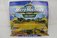 Vtg 1998 Galoob Micro Machines MASH Team #4 M*A*S*H Evac Copter Hospital Ship